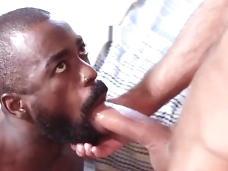 blowjob Play a waiting game black bodies gives on on circa occasions side function this akin pussy near frying Russian stallion gay